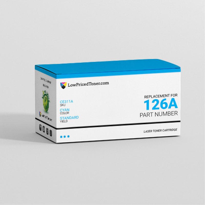 HP CE311A 126A Compatible Cyan Laser Toner Cartridge