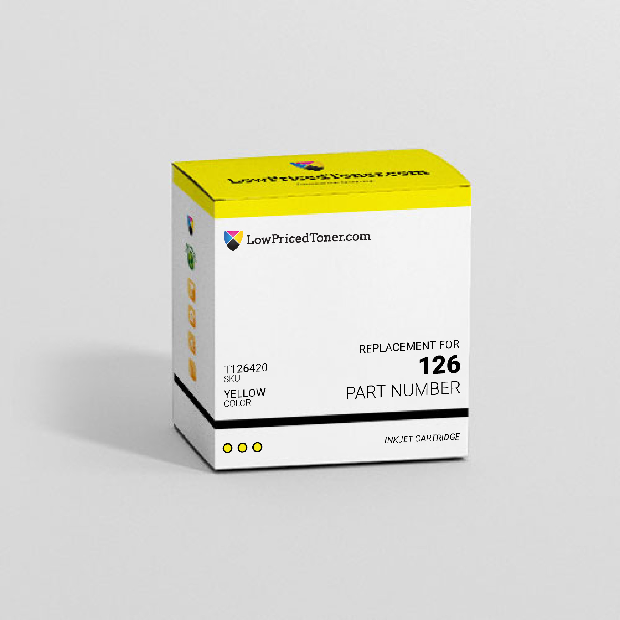 Epson T126420 126 Remanufactured Yellow Ink Cartridge