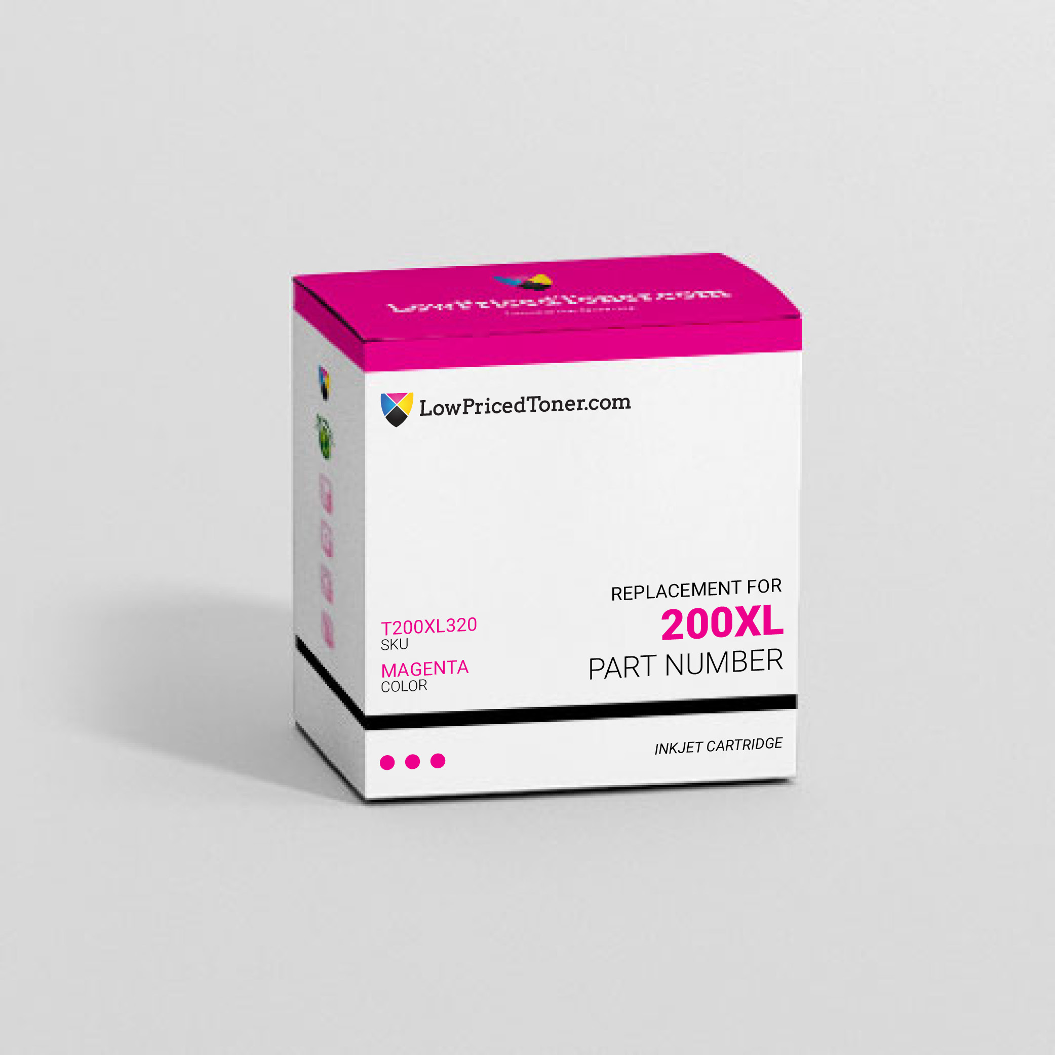 Epson T200XL320 200XL Remanufactured Magenta Ink Cartridge High Yield