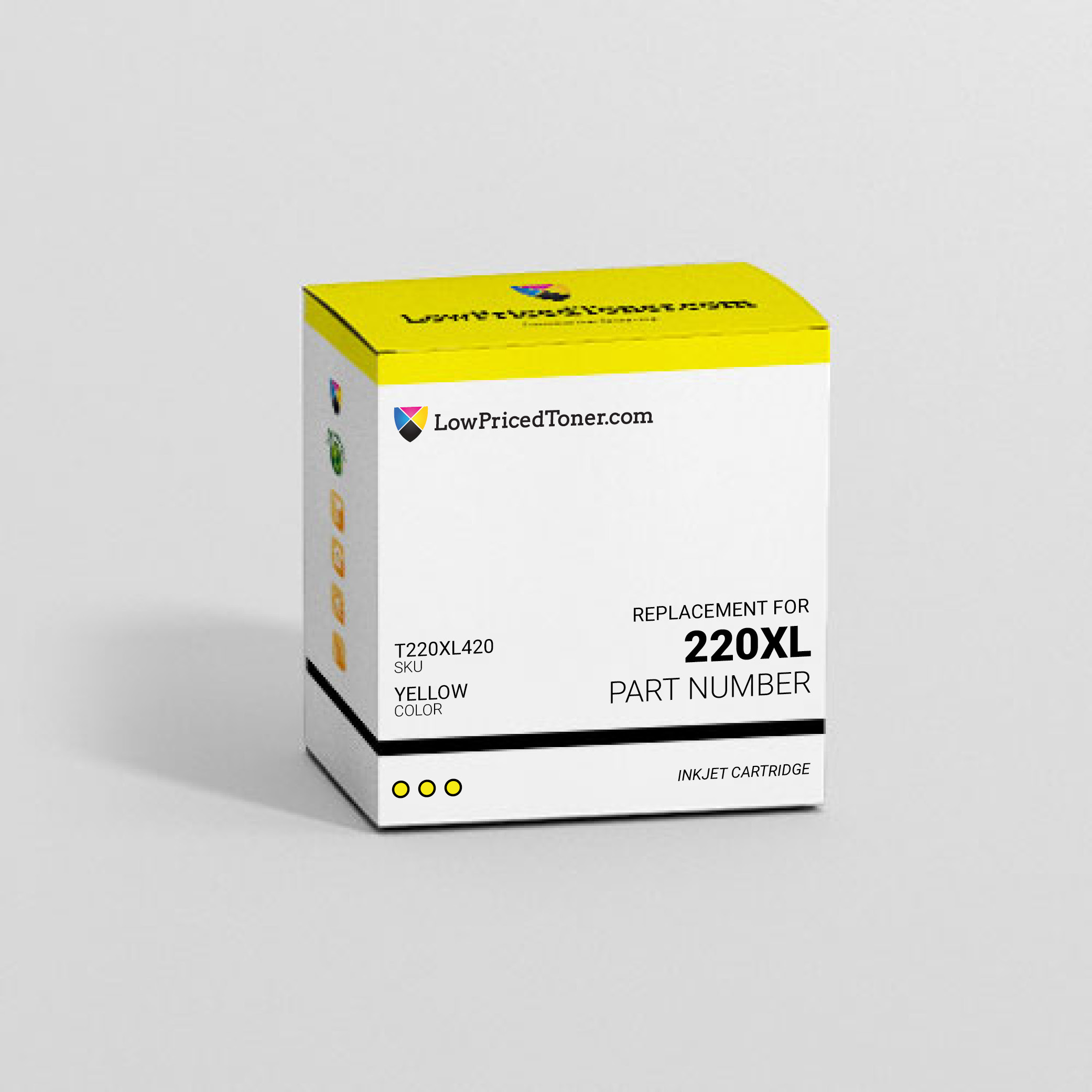 Epson T220XL420 220XL Remanufactured Yellow Ink Cartridge High Yield