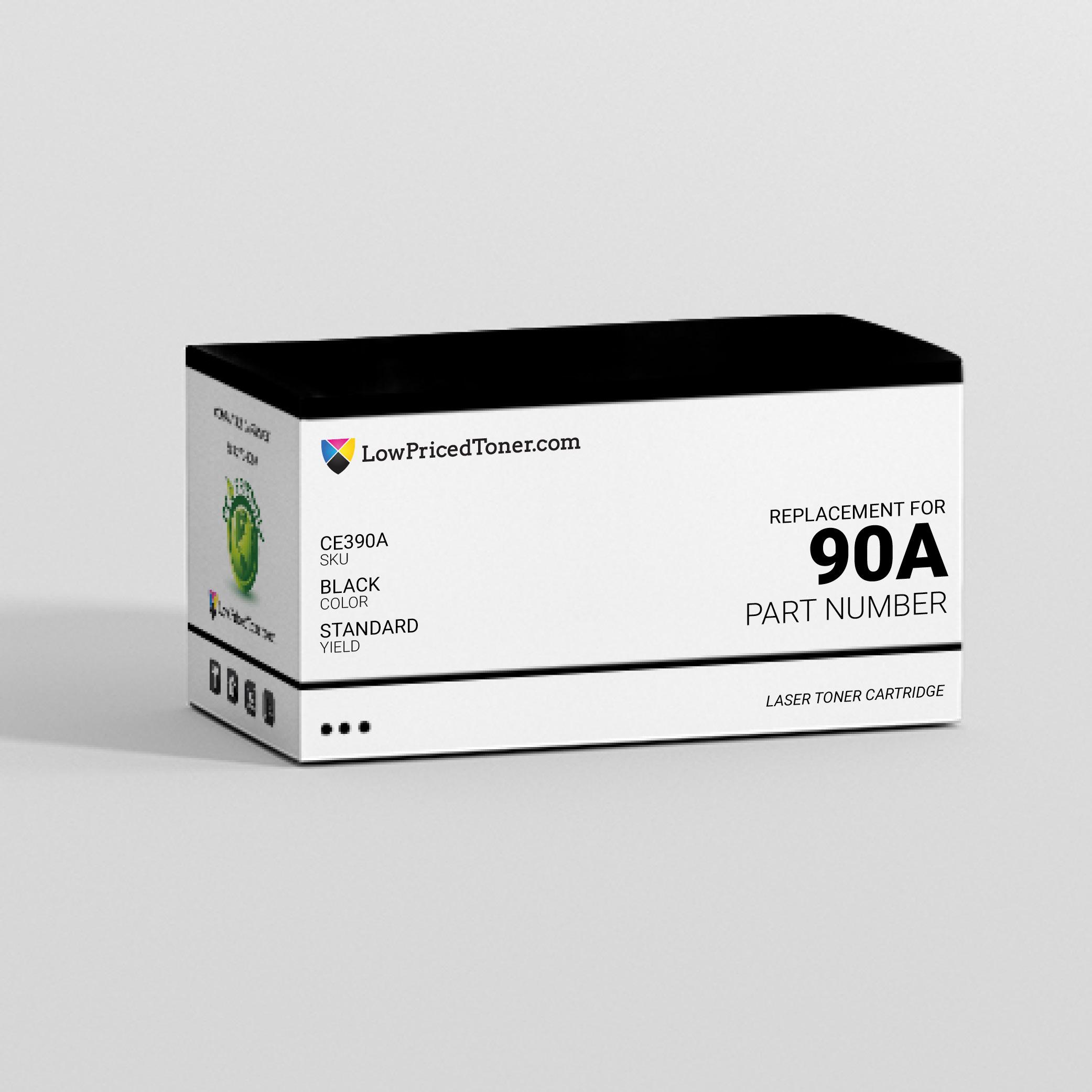 HP CE390A 90A Compatible Black Laser Toner Cartridge