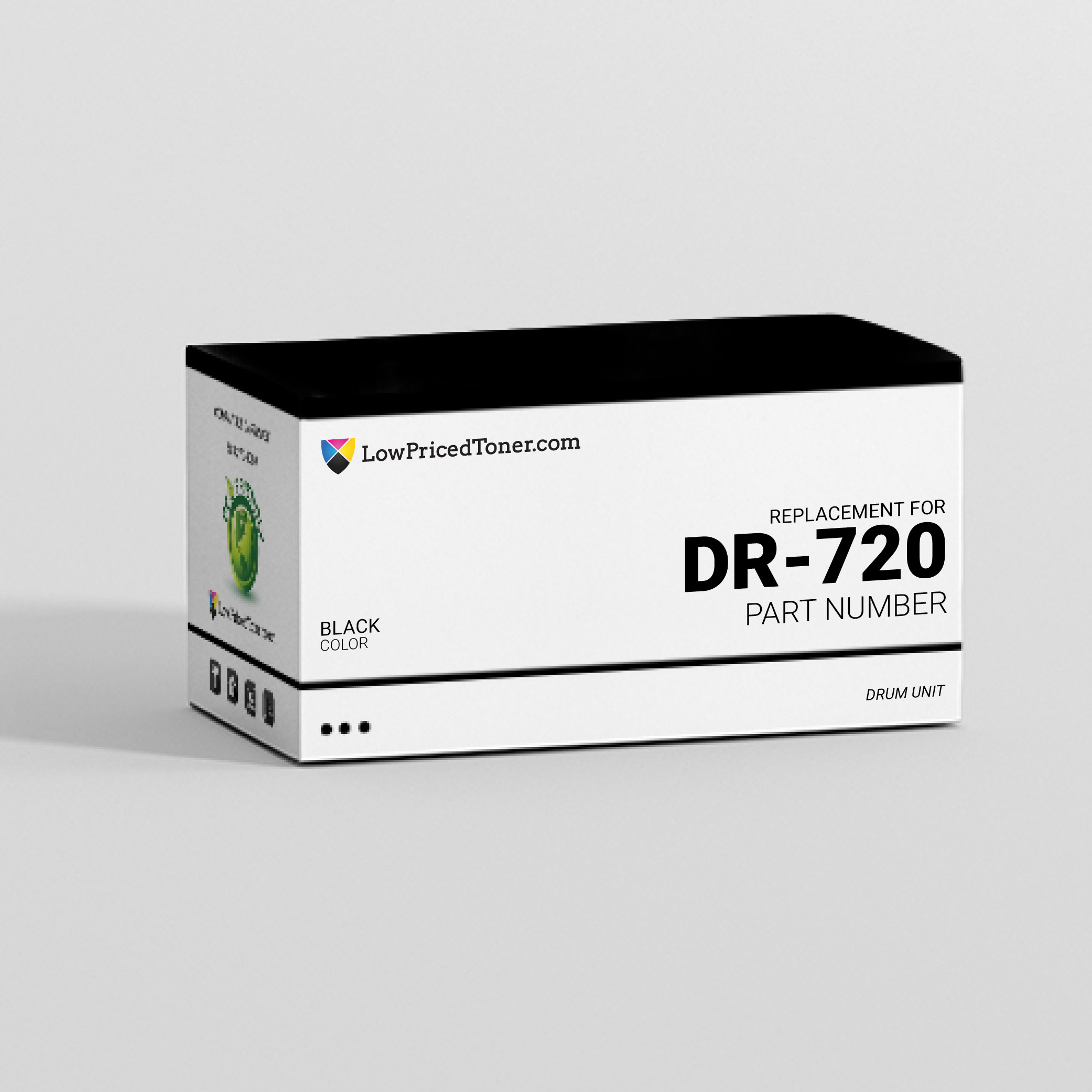 Brother DR-720 Remanufactured Black Drum