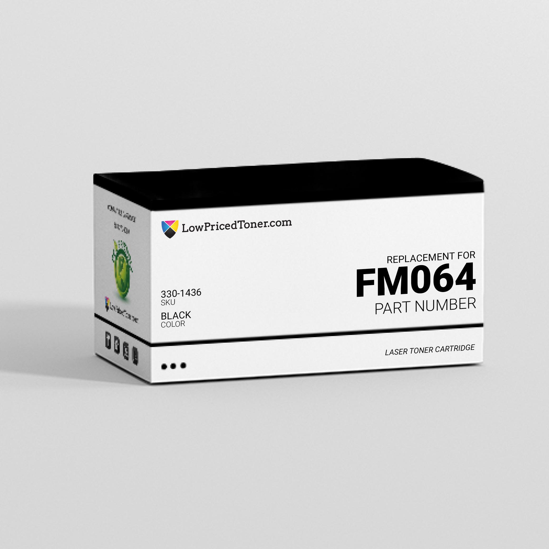 Dell 330-1436 FM064 Compatible Black Laser Toner Cartridge