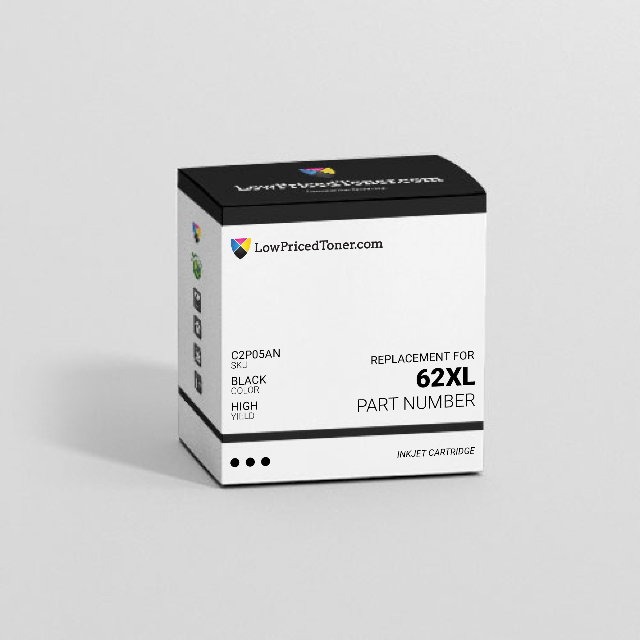 HP C2P05AN 62XL Remanufactured Black Ink Cartridge High Yield