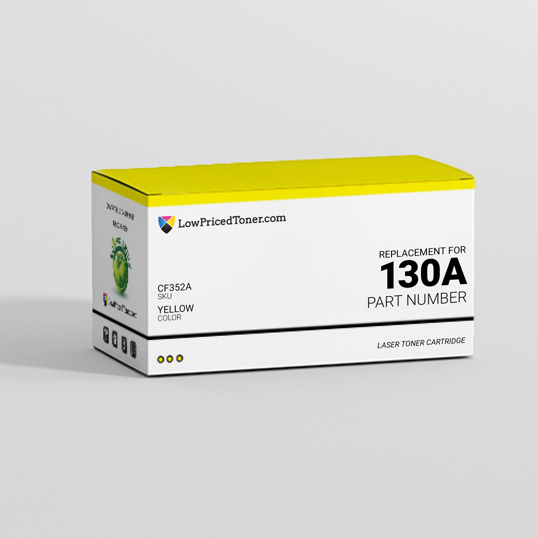 HP CF352A 130A Compatible Yellow Laser Toner Cartridge