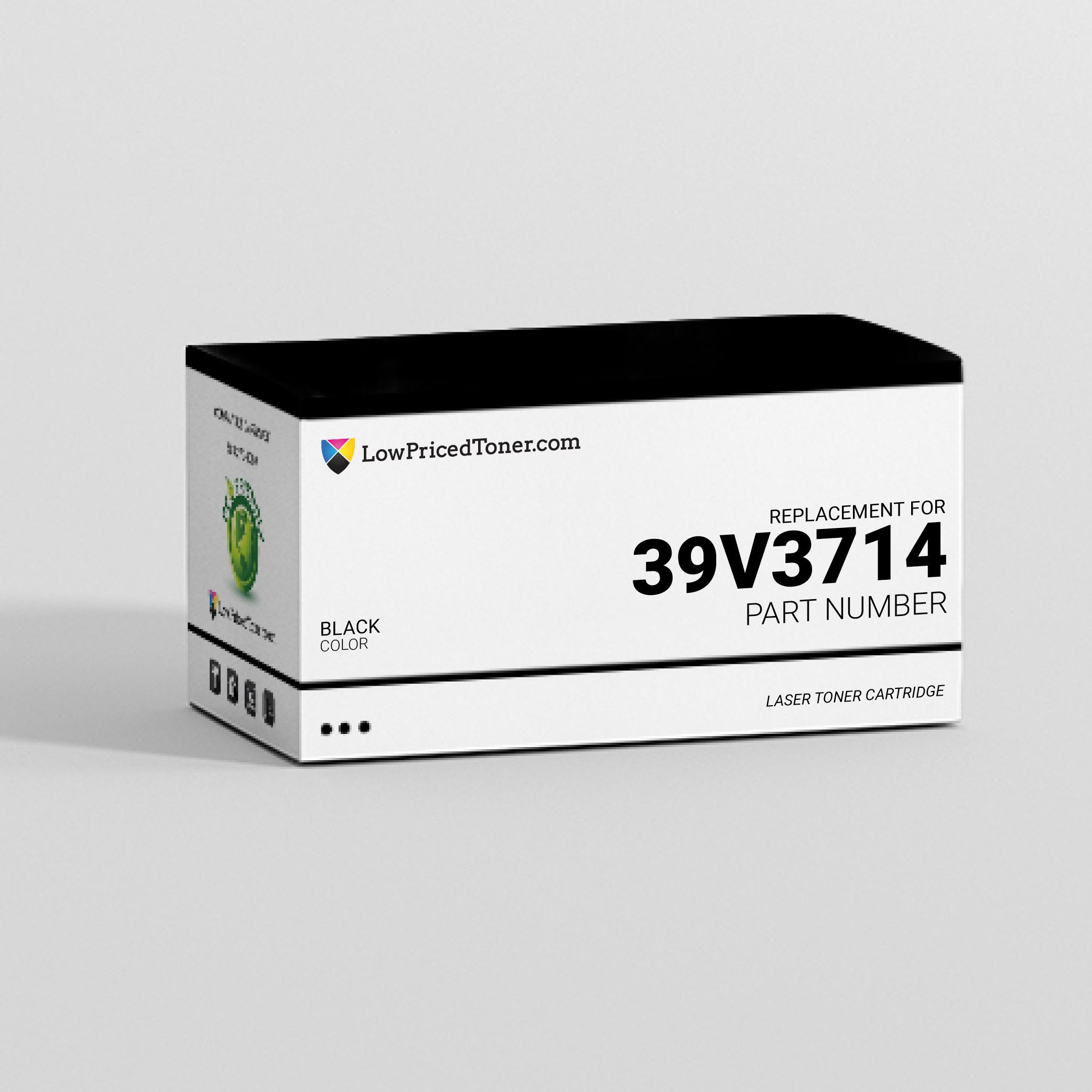 IBM 39V3714 Remanufactured Black Laser Toner Cartridge
