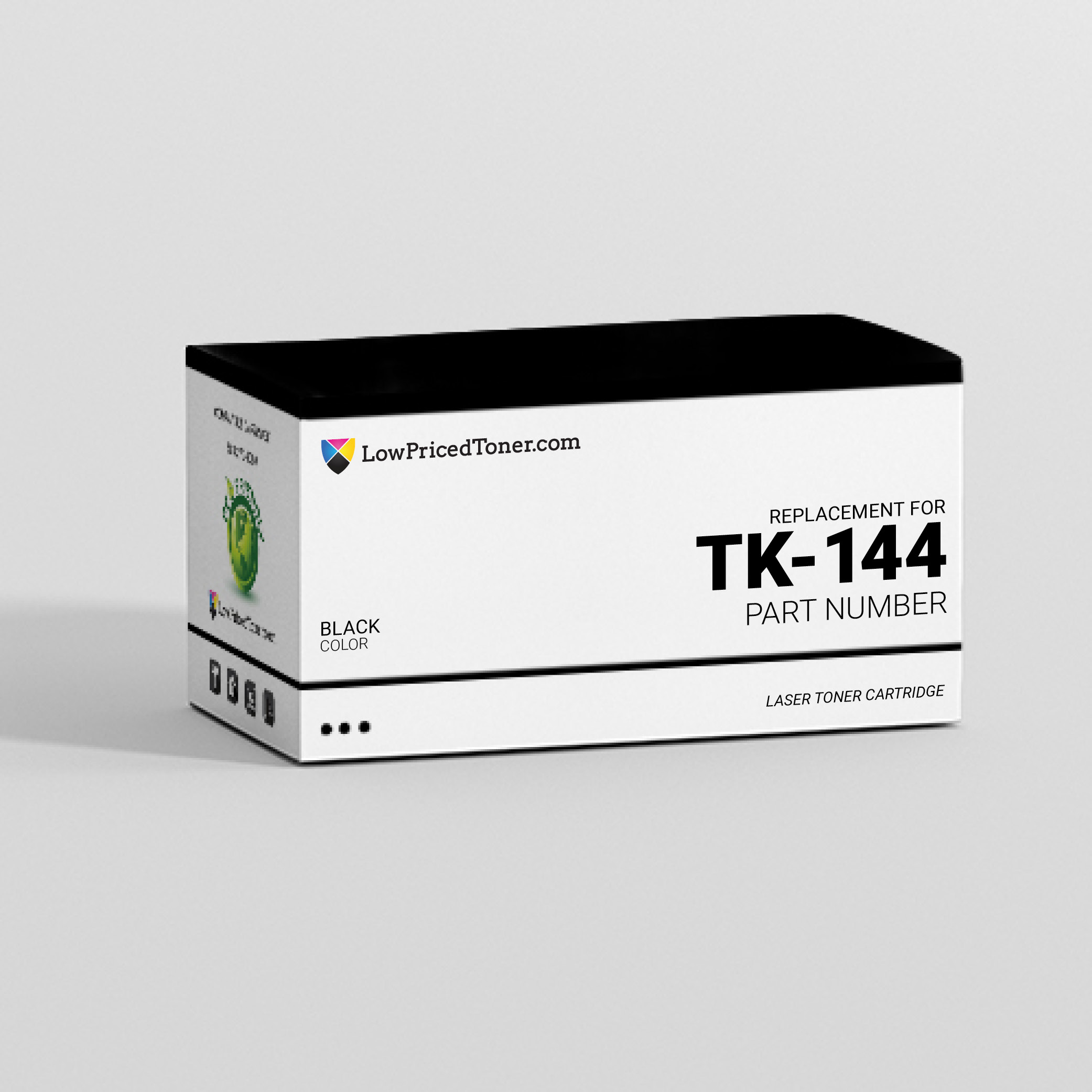 Kyocera Mita TK-144 Compatible Black Laser Toner Cartridge