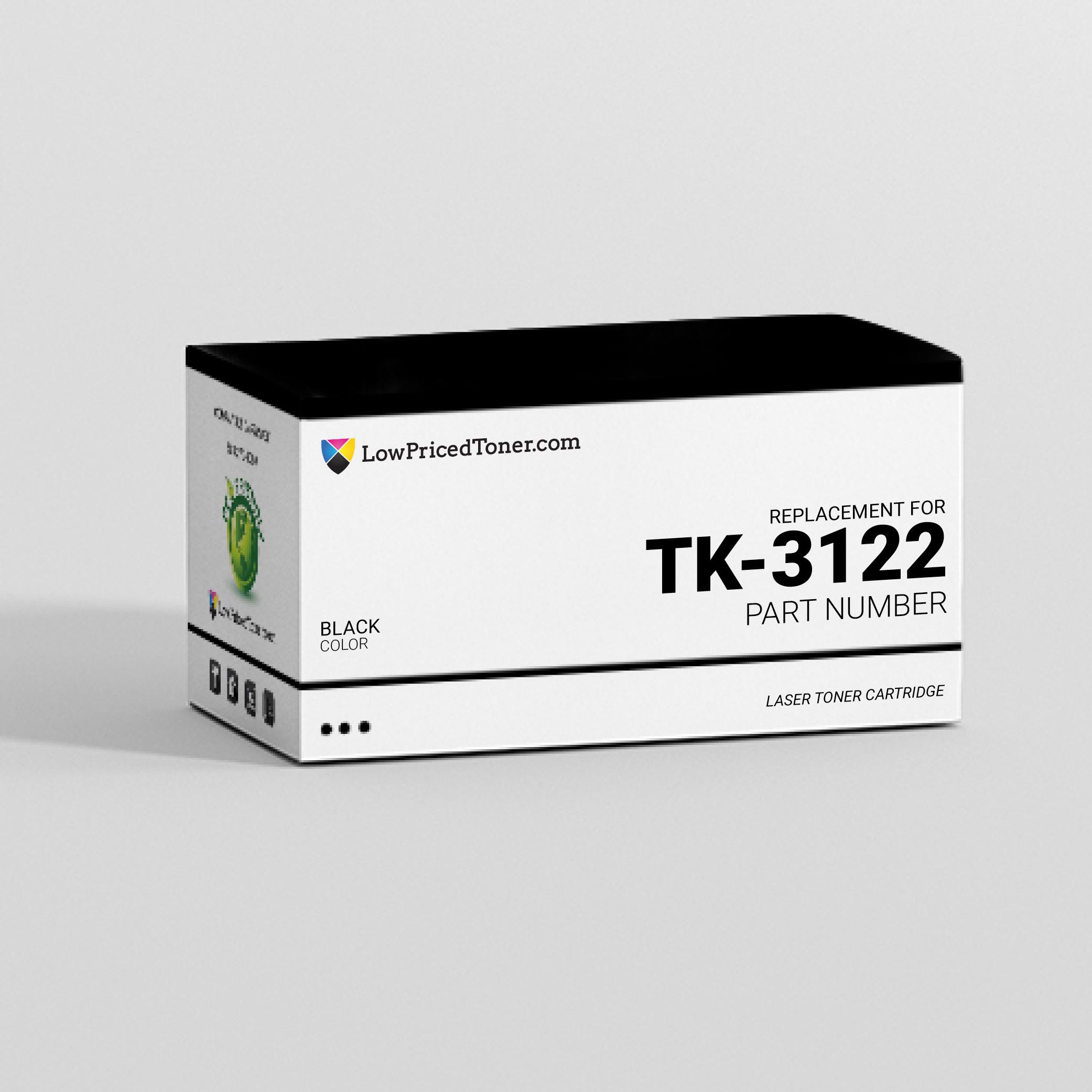 Kyocera TK-3122 Compatible Black Laser Toner Cartridge