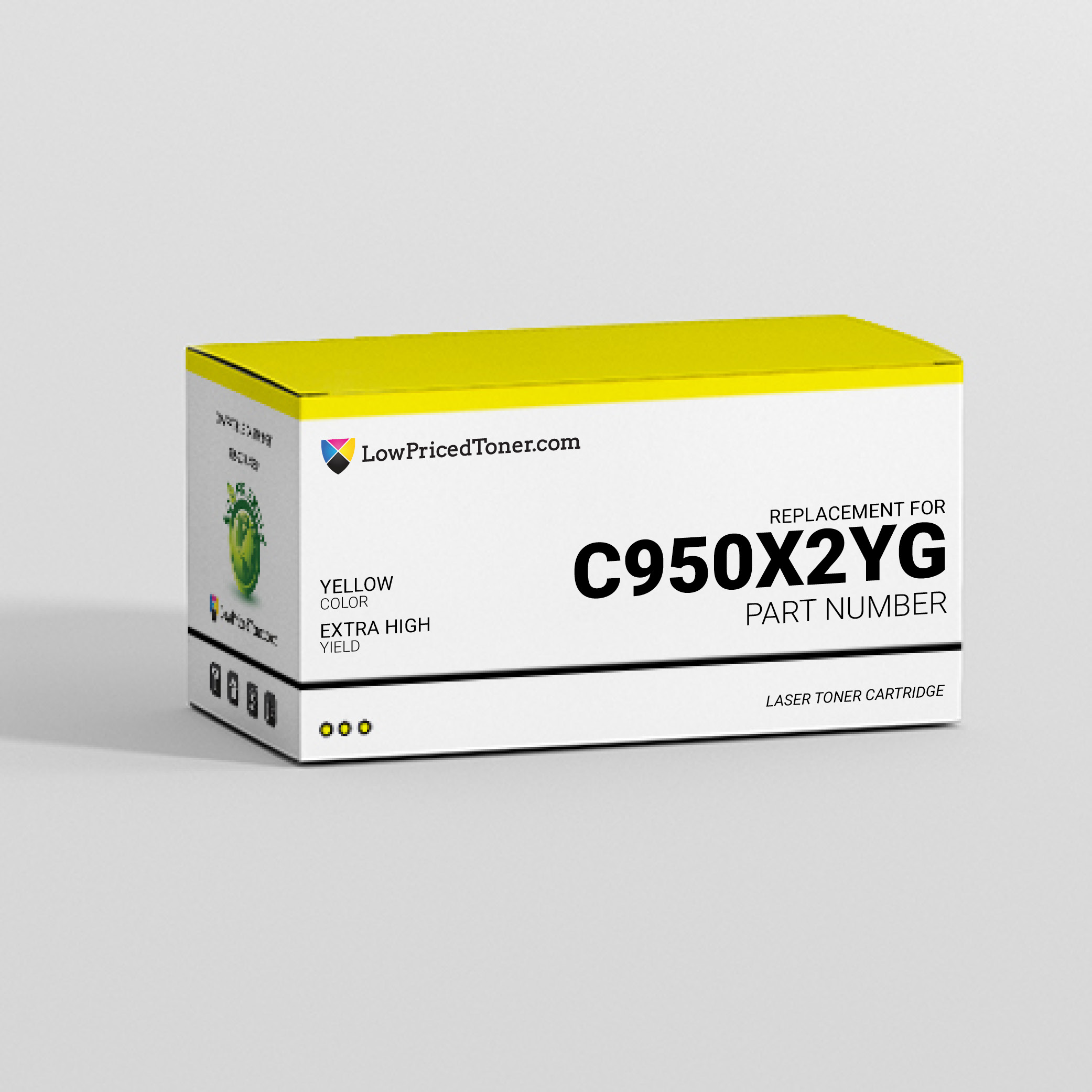 Lexmark C950X2YG Compatible Yellow Laser Toner Cartridge Extra High Yield