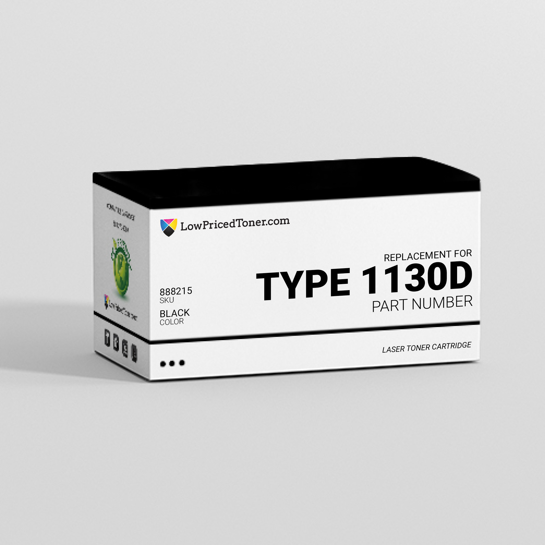 Ricoh 888215 Type 1130D Compatible Black Laser Toner Cartridge