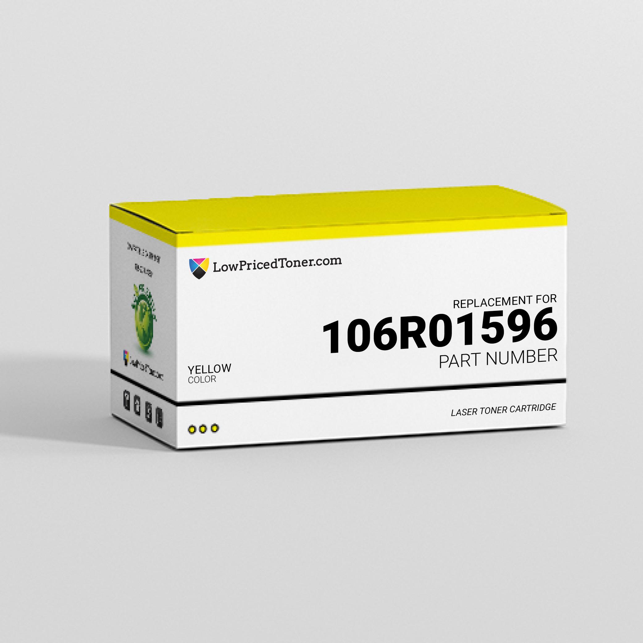 Xerox 106R01596 Compatible Yellow Laser Toner Cartridge